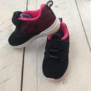 Champion Toddler Girl Velcro Sneakers Size 5